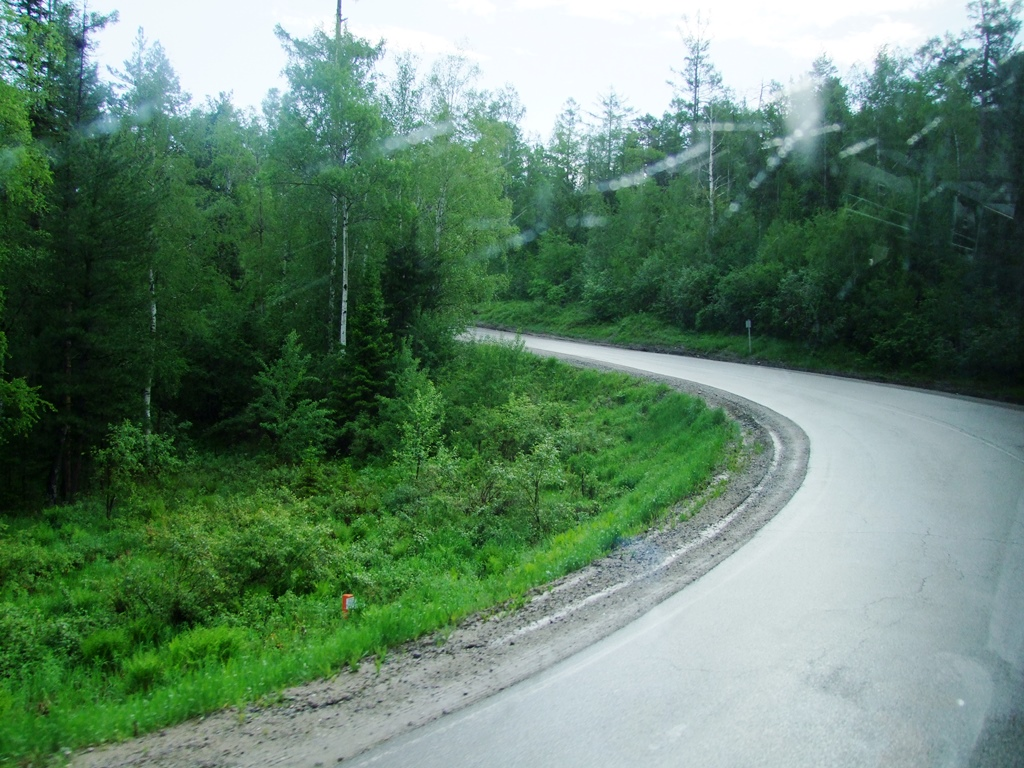 Sur la route d'Oulan Oudé.