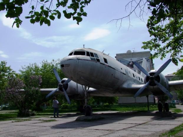 Un avion incognita à Kouïbychev.