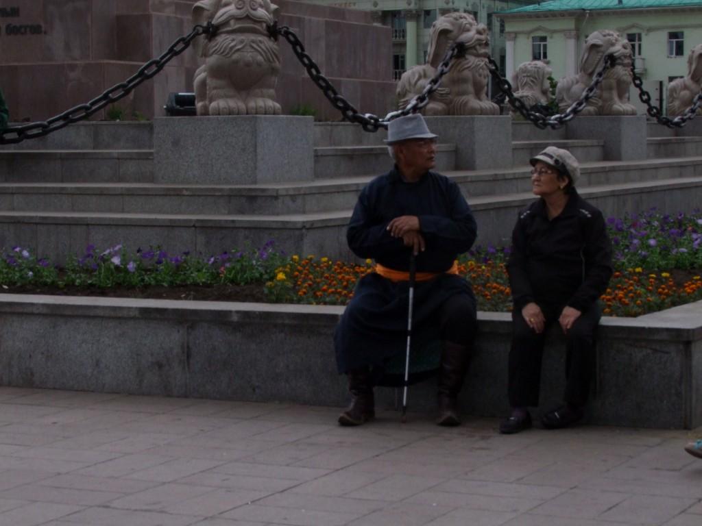 Un couple mongol.