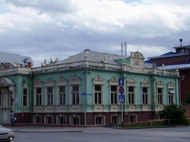 Une autre maison typique de la région.
