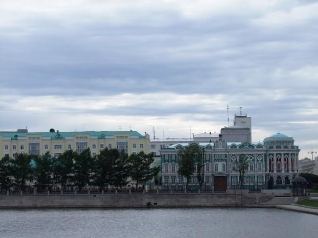Visite d'Ekaterinbourg.