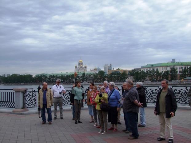 Visite de la ville Ekaterinbourg avec notre guide locale Anna.