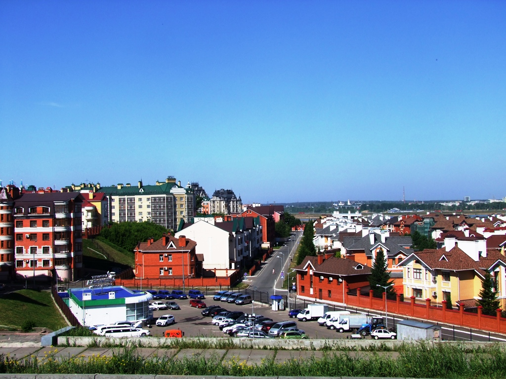Vue de Kazan.