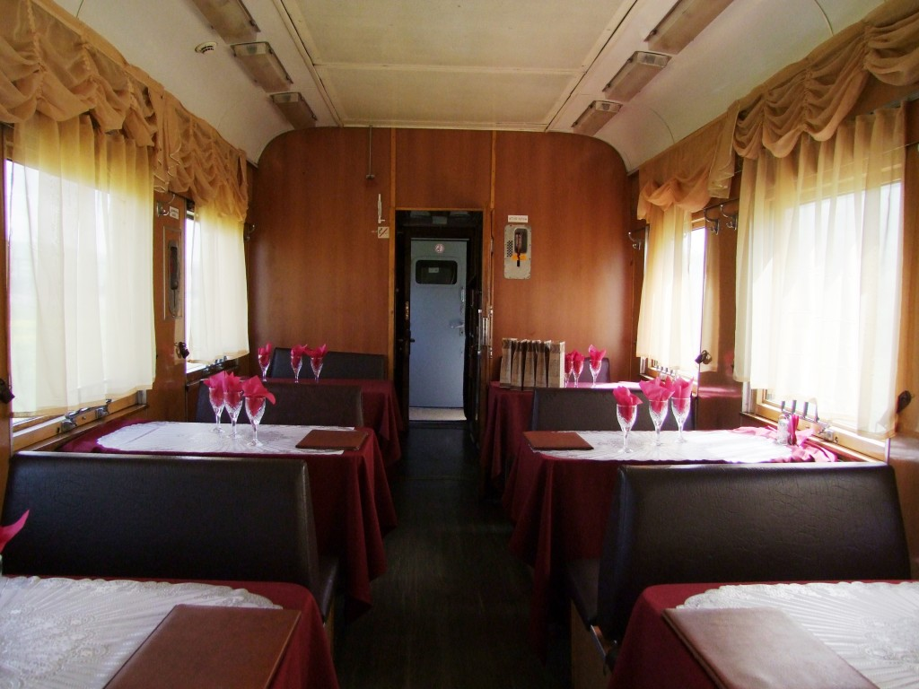 Wagon restaurant.