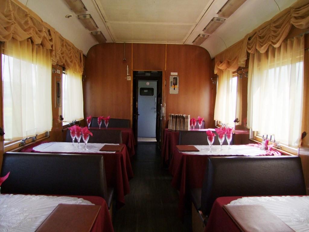 Wagon restaurant.