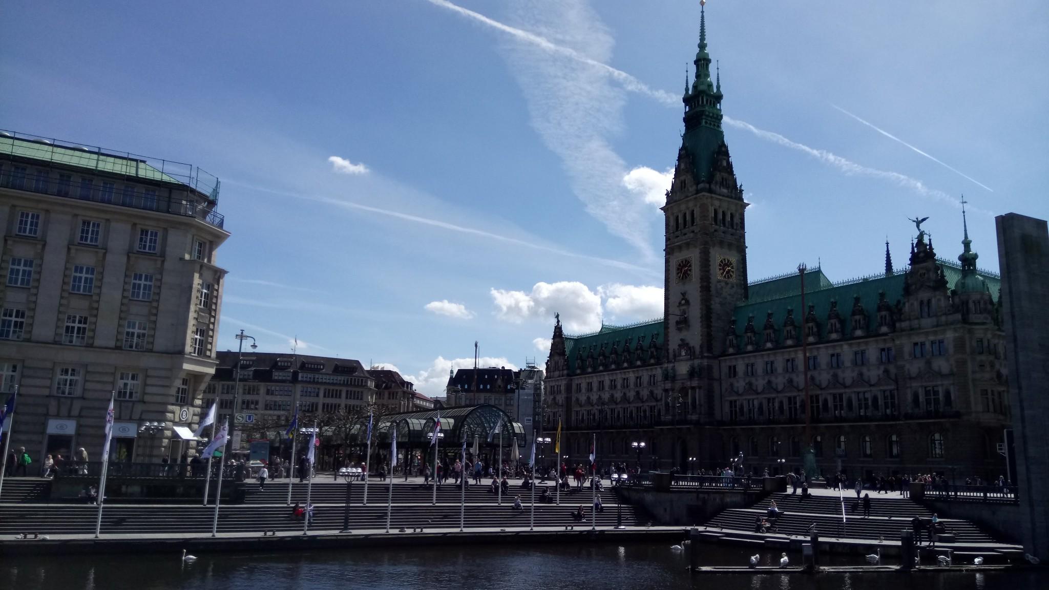 15.05. Hambourg h+¦tel de ville